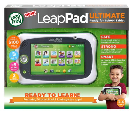 LeapFrog® LeapPad® Ultimate Ready for School Tablet™ - Green - English Version - image 4 of 9