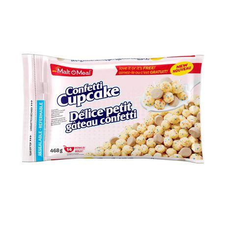 Malt-O-Meal® Confetti Cupcake - image 1 of 1