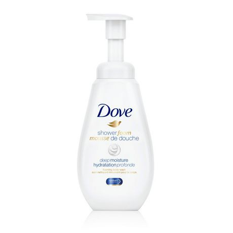 Dove Shower Foam Deep Moisture Foaming Body Wash 400mL