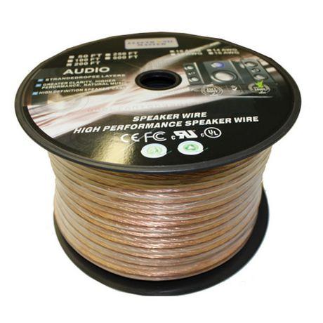 electronic master 100 ft 2 wire speaker cable em6810100 walmart canada. Black Bedroom Furniture Sets. Home Design Ideas