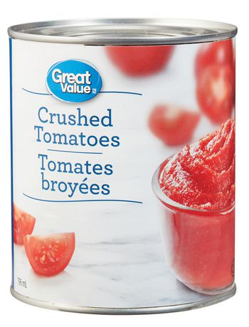 Great Value Crushed Tomatoes - image 1 of 2