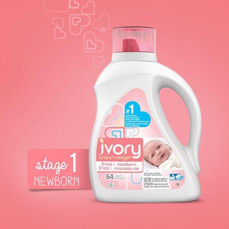 Ivory Snow Stage 1: Newborn Liquid Detergent (HEC) - image 3 of 8