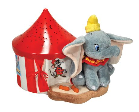 Disney Baby Dumbo The Elephant Stars Soother - image 1 of 4