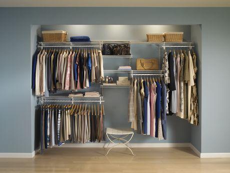 Delightful ClosetMaid 7 Ft.   10 Ft. ShelfTrack Closet Organizer