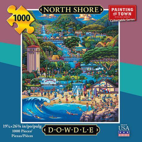 Dowdle Jigsaw Puzzle - North Shore - 1000 Piece