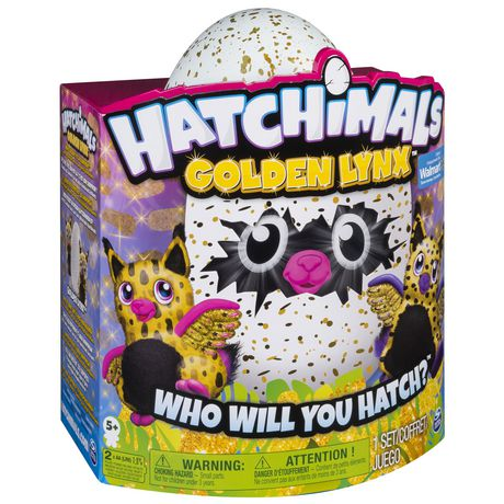 Hatchimals Golden Lynx – Hatching Egg with Interactive Creature by Spin Master, Available Exclusively at Walmart - image 7 of 8