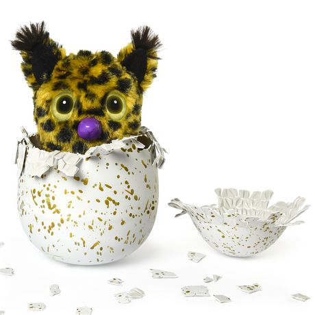 Hatchimals Golden Lynx – Hatching Egg with Interactive Creature by Spin Master, Available Exclusively at Walmart - image 3 of 8