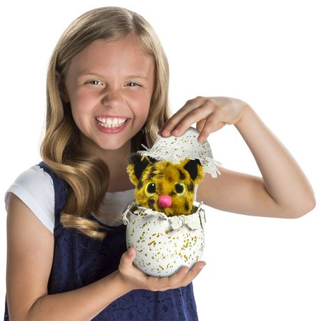Hatchimals Golden Lynx – Hatching Egg with Interactive Creature by Spin Master, Available Exclusively at Walmart - image 2 of 8