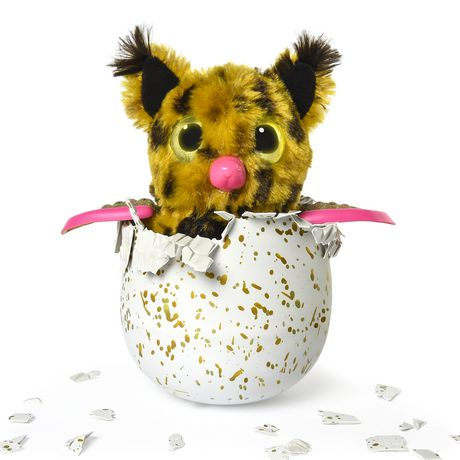 Hatchimals Golden Lynx – Hatching Egg with Interactive Creature by Spin Master, Available Exclusively at Walmart - image 4 of 8