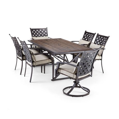 hometrends Venice 7-piece Dining Set - image 2 of 9