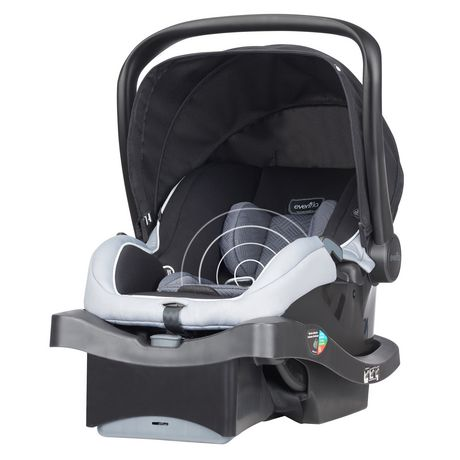 Evenflo Litemax 35 with Sensorsafe Technology Infant Car Seat Concord - image 6 of 6