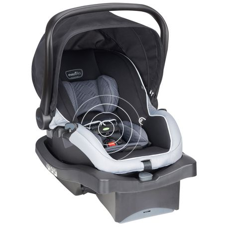 Evenflo Litemax 35 with Sensorsafe Technology Infant Car Seat Concord - image 2 of 6