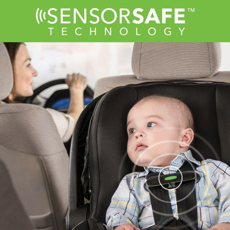 Evenflo Litemax 35 with Sensorsafe Technology Infant Car Seat Concord - image 4 of 6