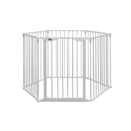 Bily White Metal Barrier Superyard - image 1 of 4