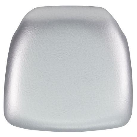 Hard White Vinyl Chiavari Chair Cushion - image 1 of 1
