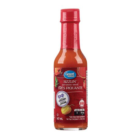 Great Value Sizzlin' Hot Sauce - image 1 of 2
