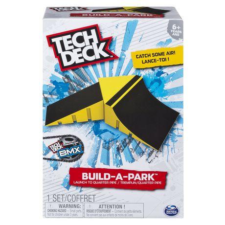 Tech Deck Build-A-Park Yellow Launch to Quarter Pipe   Walmart Canada