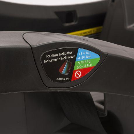 Base pour siège d'auto pour bébé LiteMax 35 Evenflo - Noire - image 3 de 4