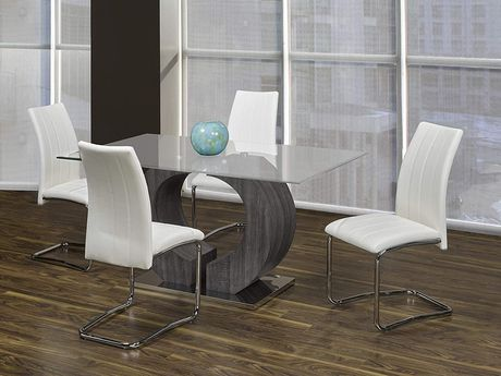 K-Living NAPA Dining Chairs in White (Set of 2) - image 2 of 2