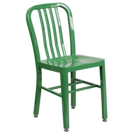 Surprising Green Metal Indoor Outdoor Chair Walmart Canada Creativecarmelina Interior Chair Design Creativecarmelinacom
