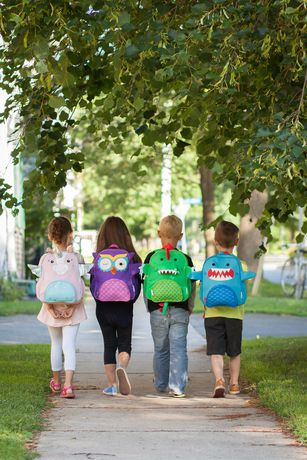 "Zoocchini Toddler Child Backpack 13"" Daycare School Bag Sherman the Shark - image 9 of 9"