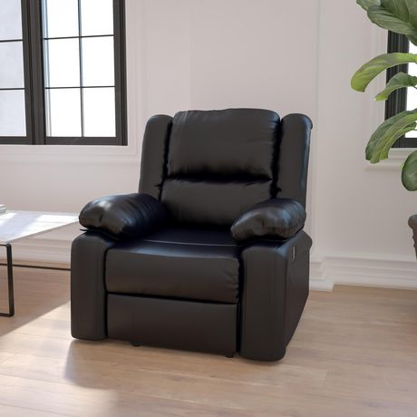 Harmony Series Black Leather Recliner - image 2 of 5