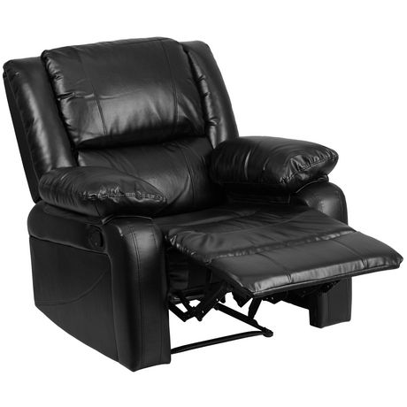 Harmony Series Black Leather Recliner - image 1 of 5