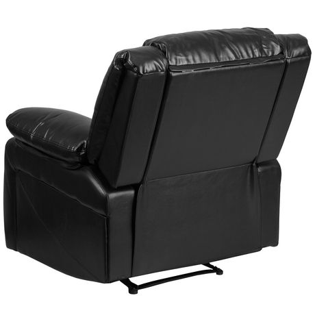 Harmony Series Black Leather Recliner - image 5 of 5