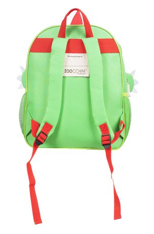 "Zoocchini Toddler Child Backpack 13"" Daycare School Bag Devin The Dinosaur - image 3 of 7"