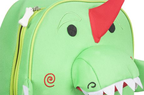 "Zoocchini Toddler Child Backpack 13"" Daycare School Bag Devin The Dinosaur - image 4 of 7"