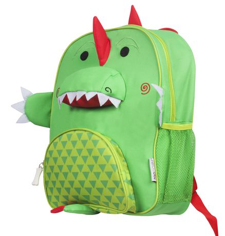 "Zoocchini Toddler Child Backpack 13"" Daycare School Bag Devin The Dinosaur - image 6 of 7"