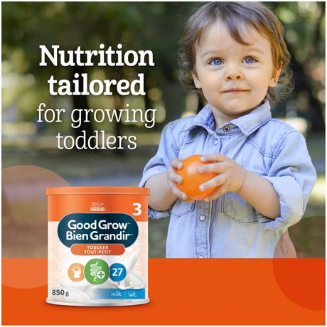 NESTLÉ GOOD GROW Stage 3 Nutritional Toddler Drink Milk Flavour - image 5 of 9