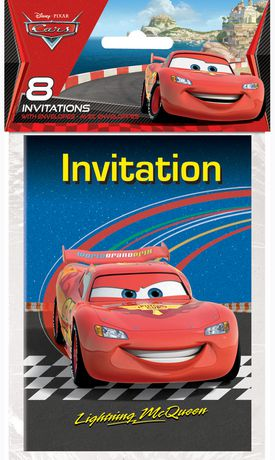 Cars Invitations Walmart Canada