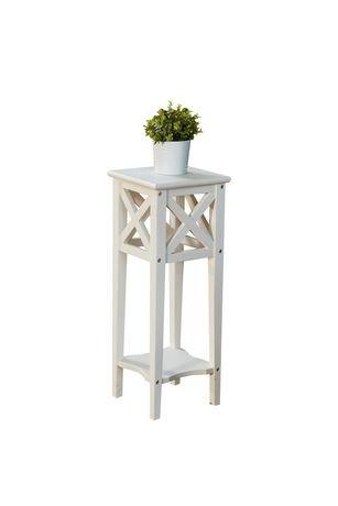 tag re pots de fleurs ivy de leisure design en blanc walmart canada. Black Bedroom Furniture Sets. Home Design Ideas