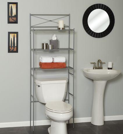 walmart over the toilet storage