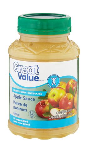 Great value unsweetened apple sauce walmart canada for What can you make with unsweetened applesauce