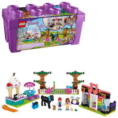 LEGO Friends Heartlake City Brick Box 41431 Toy Building Kit (321 Pieces) - image 1 of 6