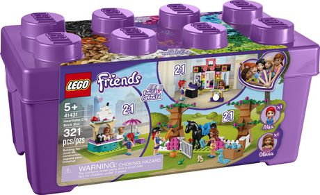LEGO Friends Heartlake City Brick Box 41431 Toy Building Kit (321 Pieces) - image 4 of 6