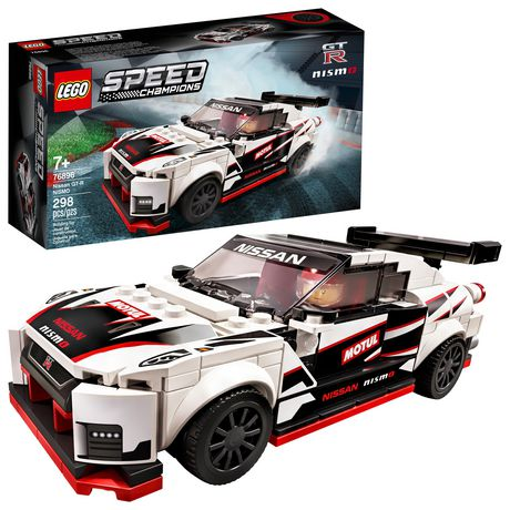 Lego Speed Champions Nissan GT-R NISMO 76896 Toy Building Kit (298 Pieces)