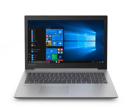 "Lenovo IDEAPAD 330 81D1000CUS 15.6"" Laptop with Intel Celeron N4000 1.1 GHz Processor,  Platinum Grey - image 1 of 5"