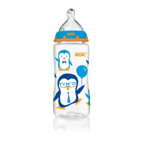 NUK Wide Neck Bottle Medium Flow 10 Oz - image 1 of 1