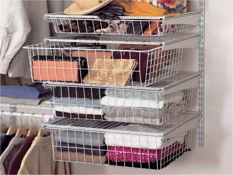 Superior ClosetMaid ShelfTrack 4 Drawer Kit