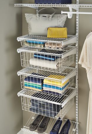 ClosetMaid ShelfTrack 4 Drawer Kit