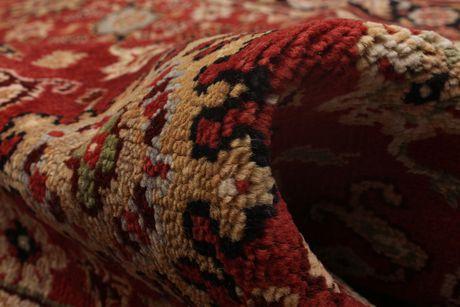 eCarpetGallery Hand Knot Serapi Heritage Copper Wool Rug 5'0x8'0 - image 4 of 6