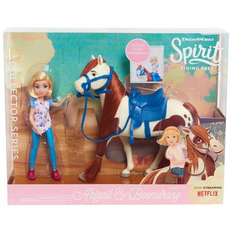 Poupée et Cheval de Spirit à Collectionner - Abigail et Boomerang - image 1 de 4