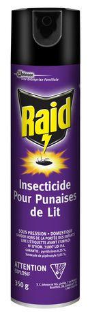 raid® bed bug killer | walmart.ca