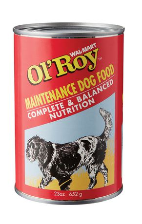 Ol Roy Wal Mart Ol Roy Maintenance Wet Dog Food Walmart