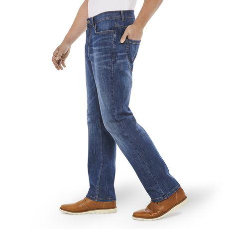 George Men's Athletic Fit Five Pocket Denim - image 2 of 6