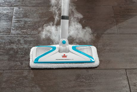 steam floor cleaners bissell powerfresh 174 slim steam mop walmart canada 12974