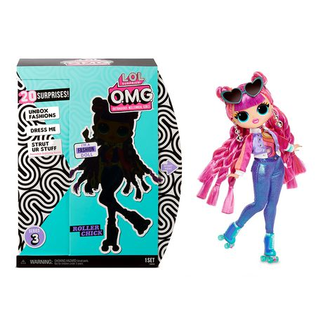 L.O.L. Surprise! O.M.G. Roller Chick Fashion Doll with 20 Surprises - image 1 of 2